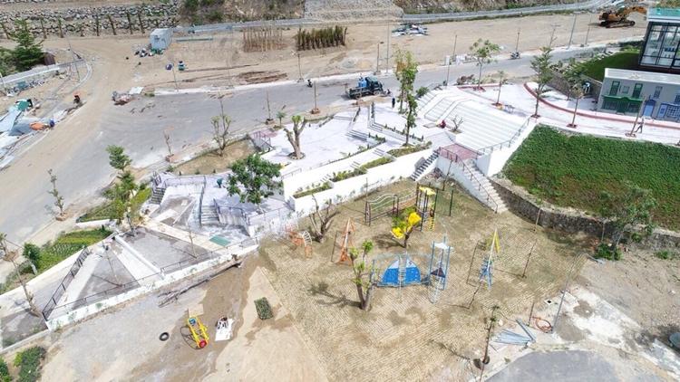 Tiến độ dự án tháng 1/2018 - Hạ tầng Hoàng Phú